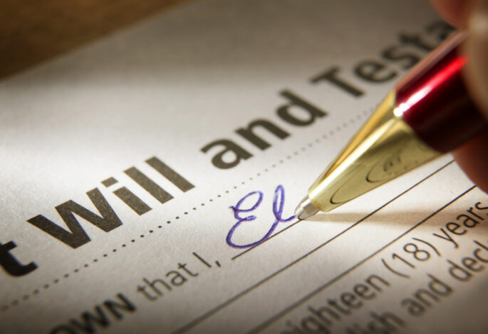 How to write my will?