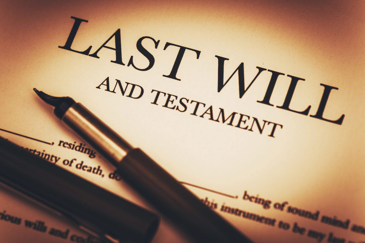 Why should I have a will?